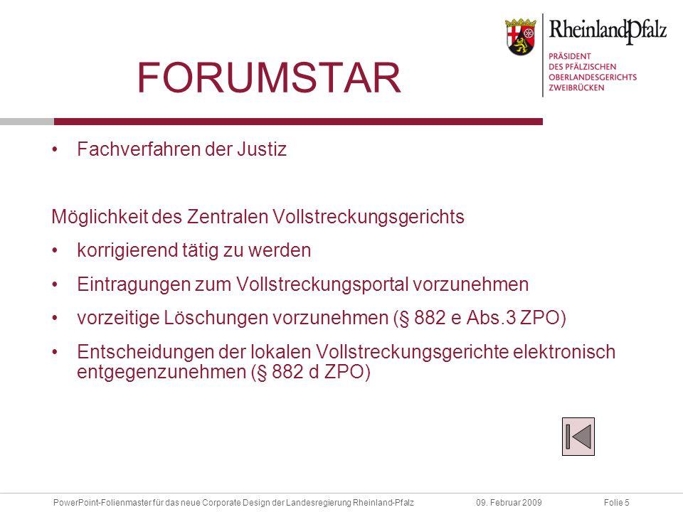 forumStar Fachverfahren der Justiz