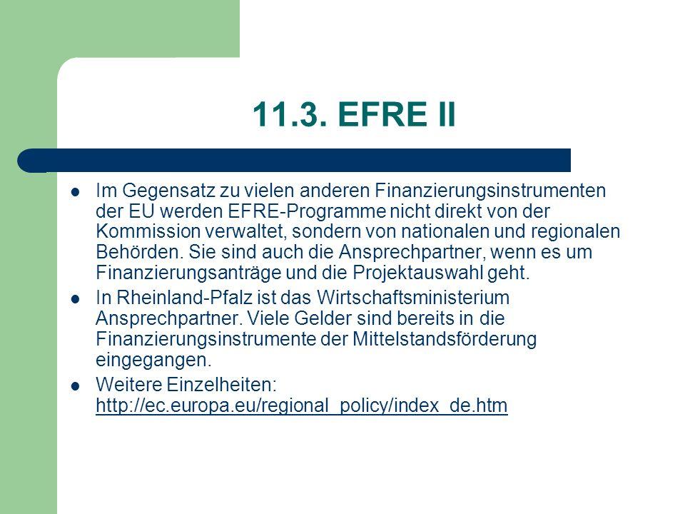 11.3. EFRE II