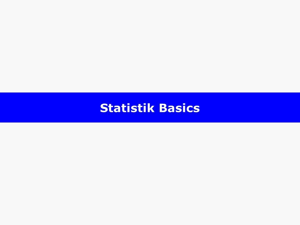 Statistik Basics