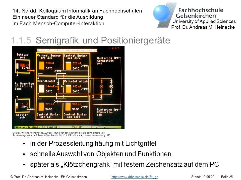 1.1.5 Semigrafik und Positioniergeräte