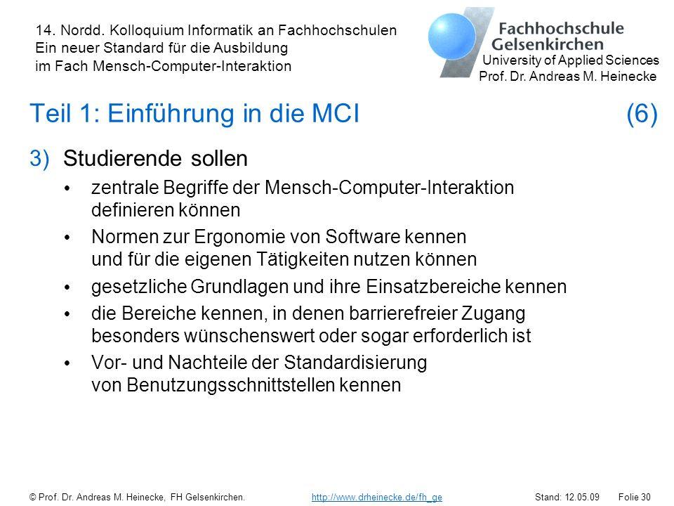 Teil 1: Einführung in die MCI (6)
