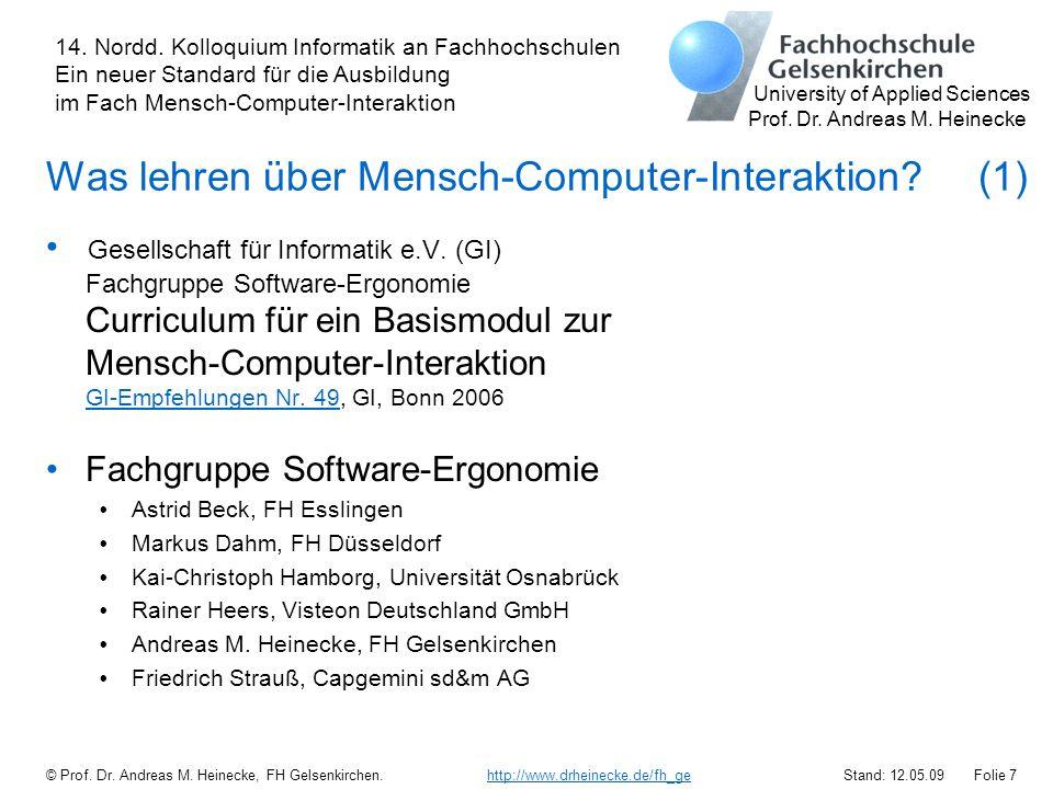 Was lehren über Mensch-Computer-Interaktion (1)