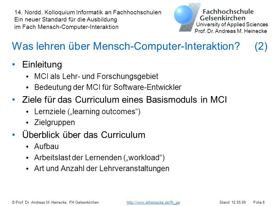 Was lehren über Mensch-Computer-Interaktion (2)