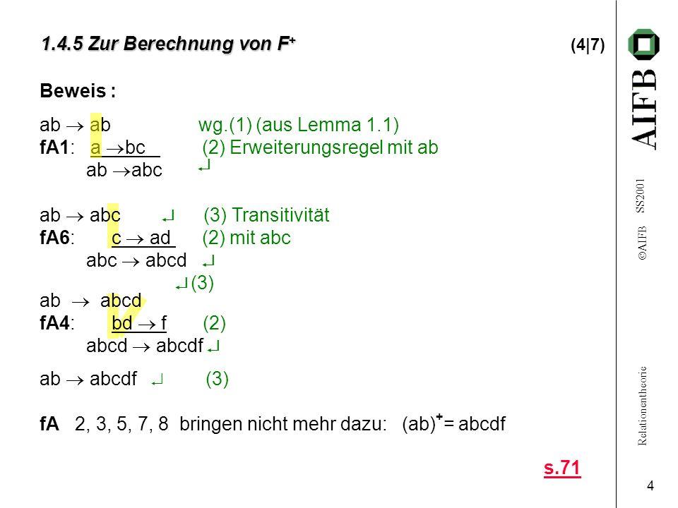 1.4.5 Zur Berechnung von F+ (4|7)