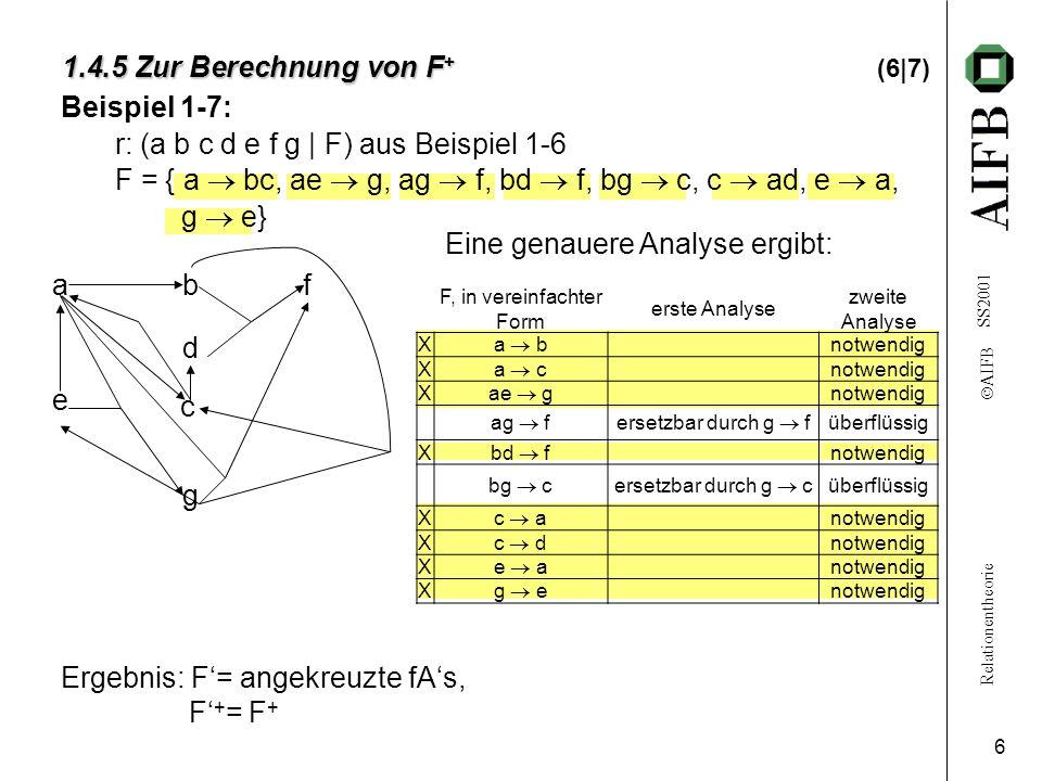 1.4.5 Zur Berechnung von F+ (6|7)