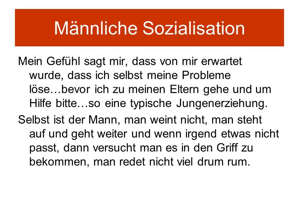 Männliche Sozialisation