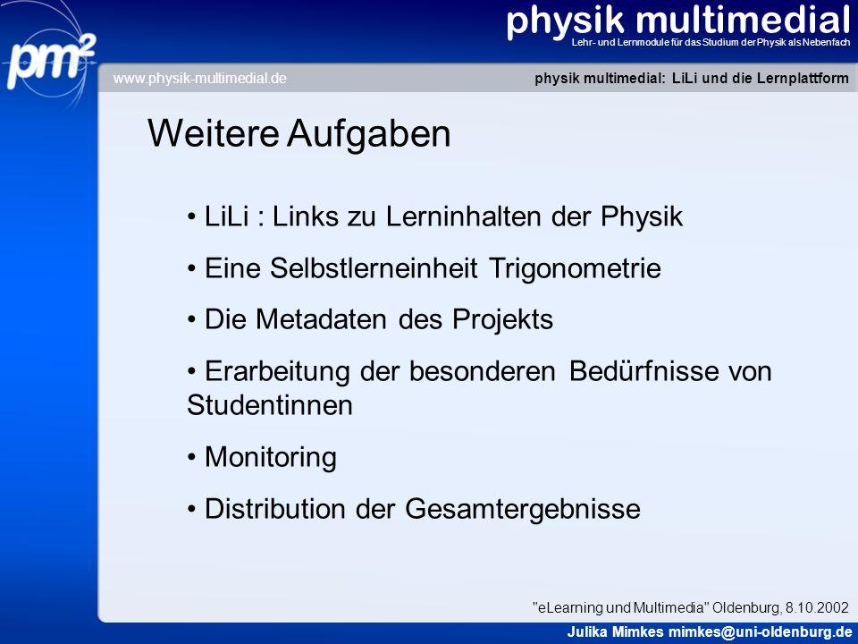 physik multimedial Weitere Aufgaben