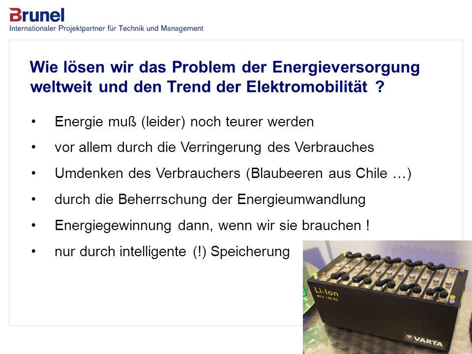 Wie lösen wir das Problem der Energieversorgung weltweit und den Trend der Elektromobilität