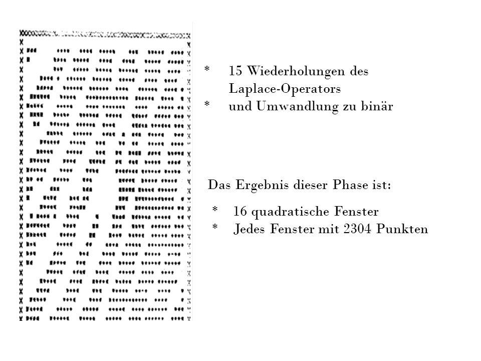 * 15 Wiederholungen des Laplace-Operators. * und Umwandlung zu binär. Das Ergebnis dieser Phase ist: