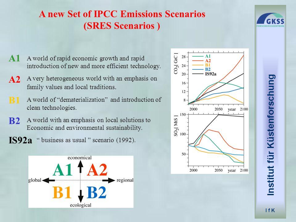 A new Set of IPCC Emissions Scenarios (SRES Scenarios )