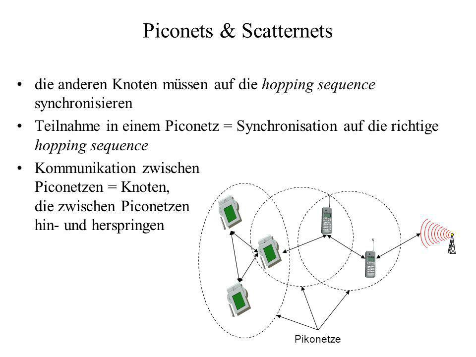 Piconets & Scatternets