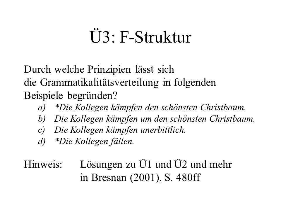 Ü3: F-Struktur Durch welche Prinzipien lässt sich