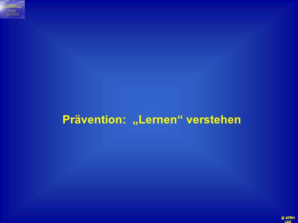 """Prävention: """"Lernen verstehen"""