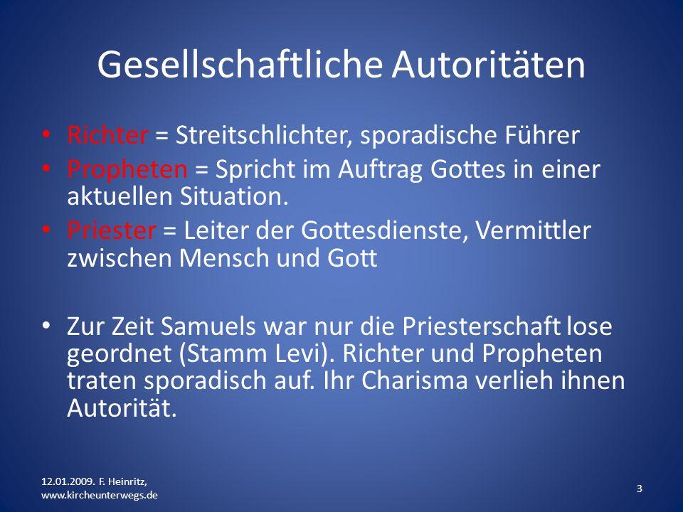 Gesellschaftliche Autoritäten