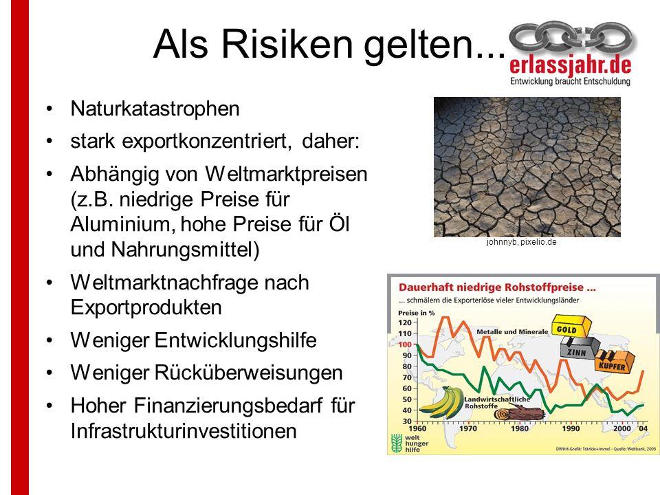 Als Risiken gelten... Naturkatastrophen