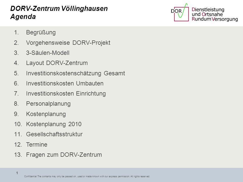 DORV-Zentrum Völlinghausen Agenda