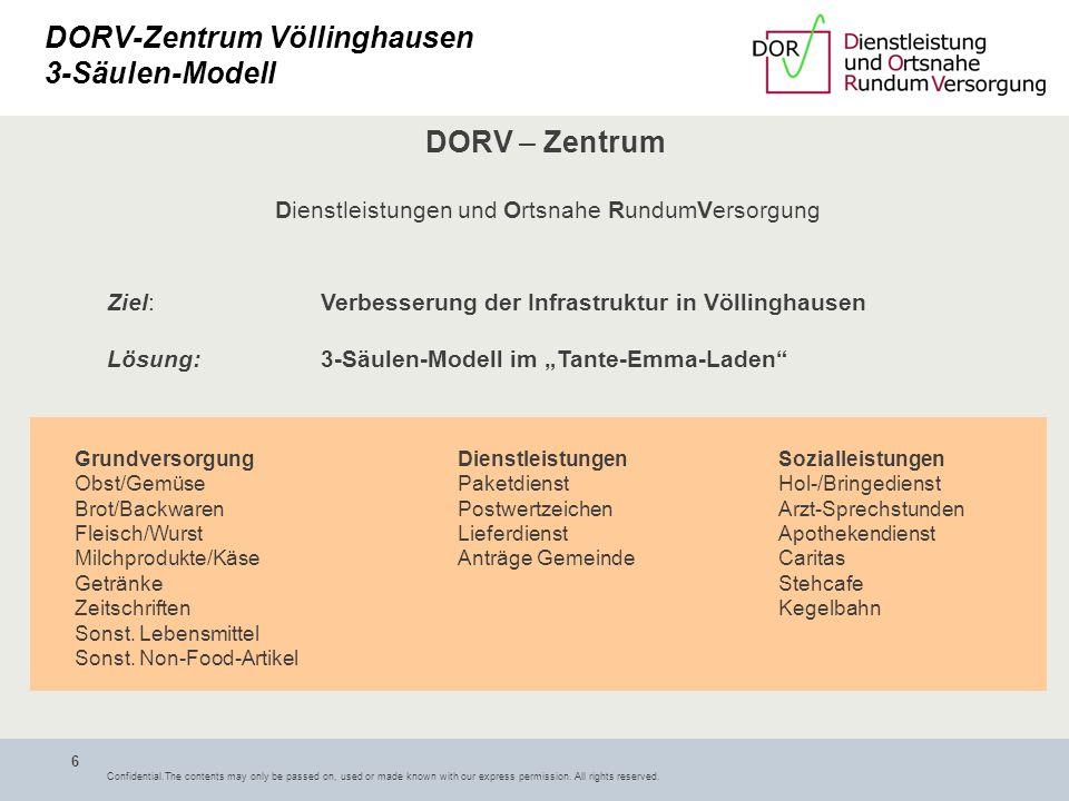 DORV-Zentrum Völlinghausen 3-Säulen-Modell