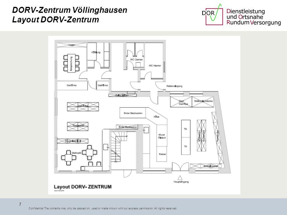 DORV-Zentrum Völlinghausen Layout DORV-Zentrum