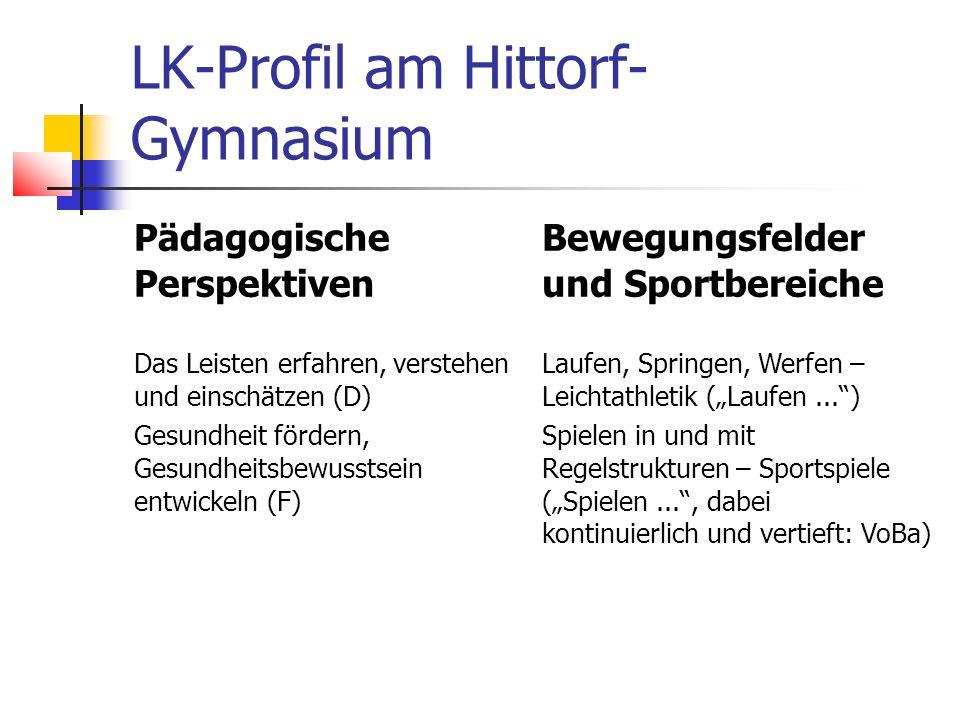 LK-Profil am Hittorf-Gymnasium