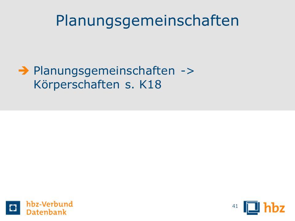 Planungsgemeinschaften