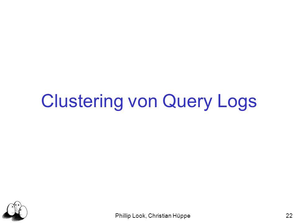 Clustering von Query Logs