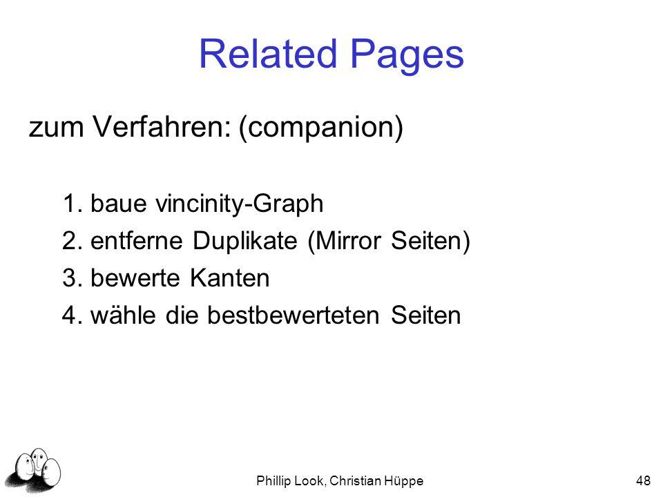 Phillip Look, Christian Hüppe