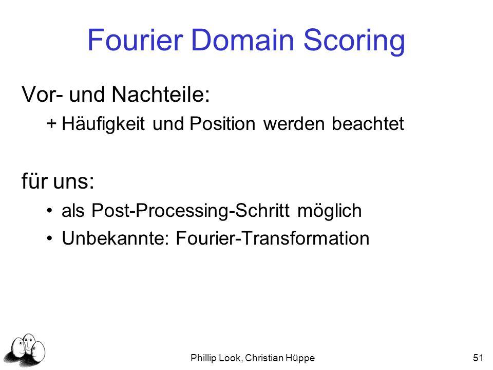 Fourier Domain Scoring