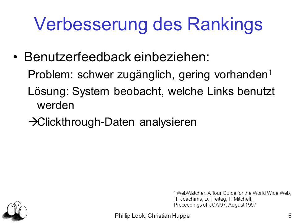 Verbesserung des Rankings