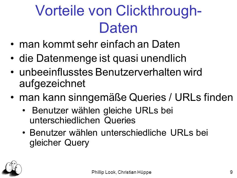 Vorteile von Clickthrough-Daten