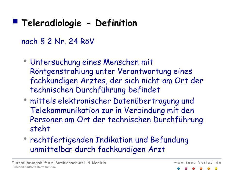 Teleradiologie - Definition