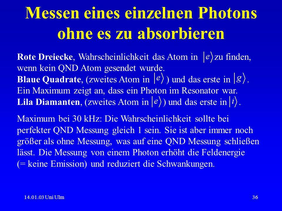 Messen eines einzelnen Photons ohne es zu absorbieren