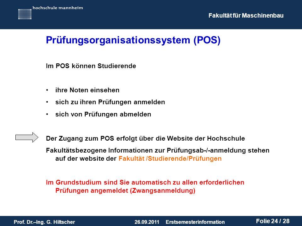 Prüfungsorganisationssystem (POS)