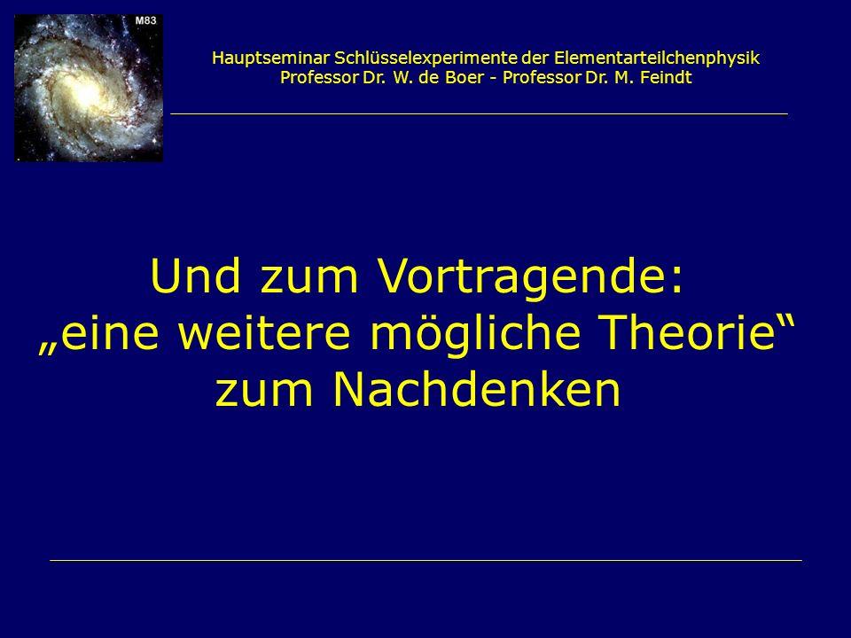 """""""eine weitere mögliche Theorie zum Nachdenken"""