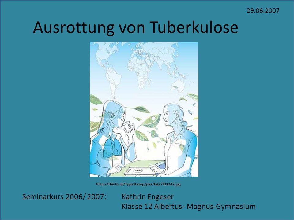 Ausrottung von Tuberkulose