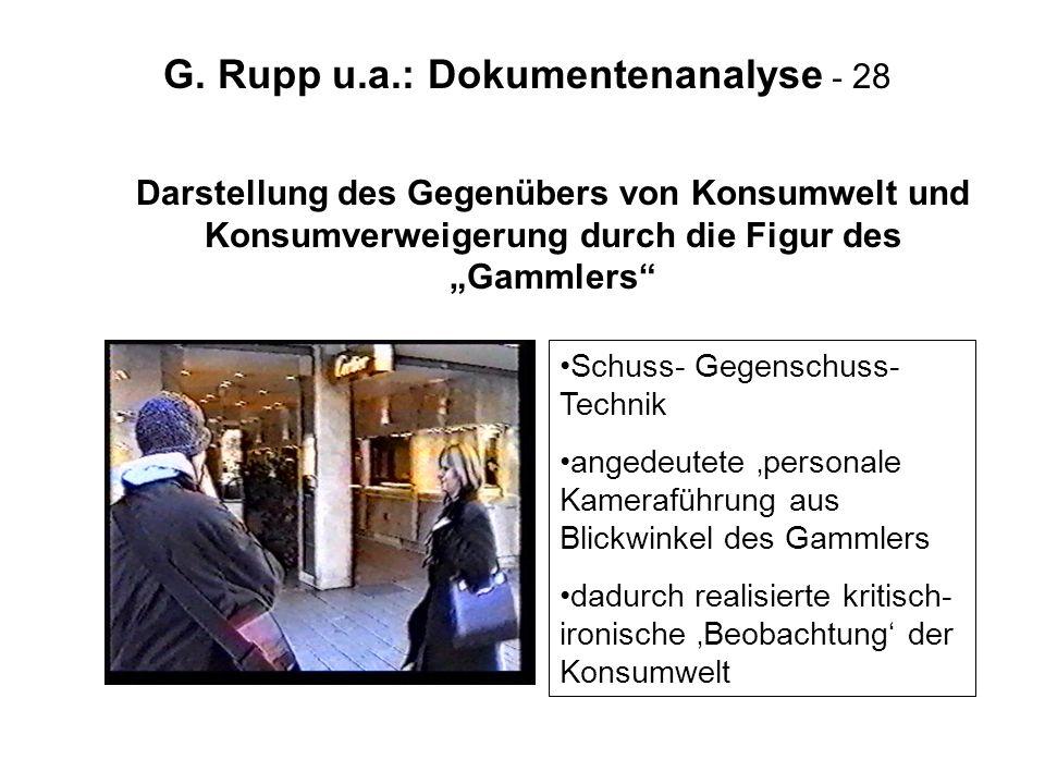 G. Rupp u.a.: Dokumentenanalyse - 28