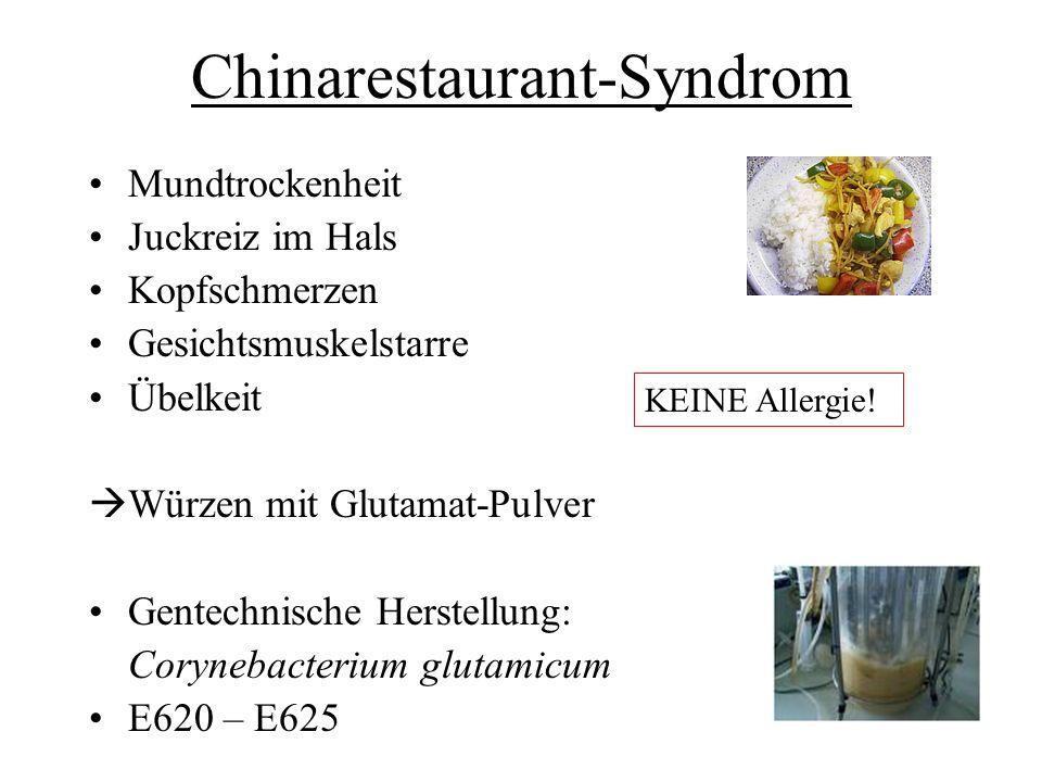 Chinarestaurant-Syndrom
