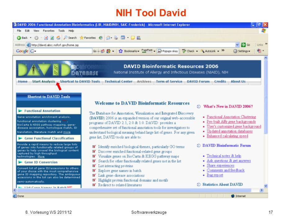 NIH Tool David