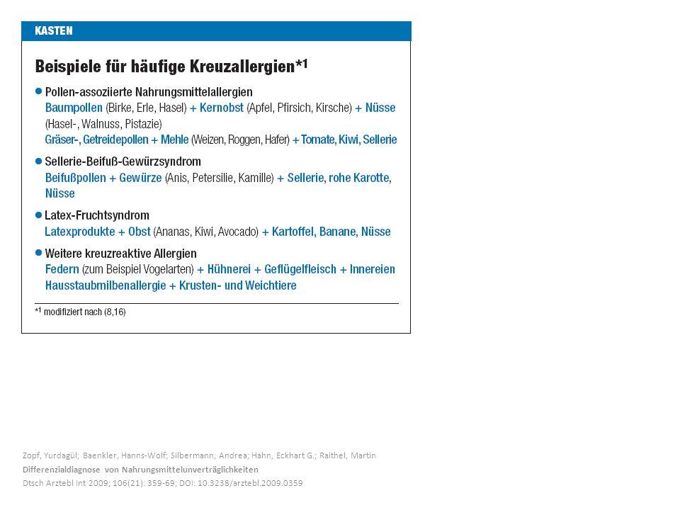 Zopf, Yurdagül; Baenkler, Hanns-Wolf; Silbermann, Andrea; Hahn, Eckhart G.; Raithel, Martin