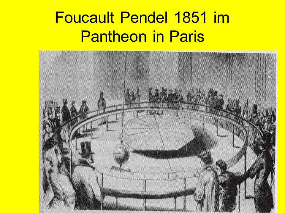 Foucault Pendel 1851 im Pantheon in Paris