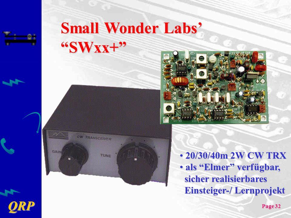 Small Wonder Labs' SWxx+