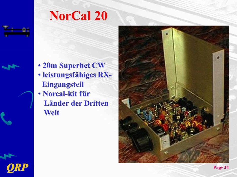 NorCal 20 20m Superhet CW leistungsfähiges RX- Eingangsteil