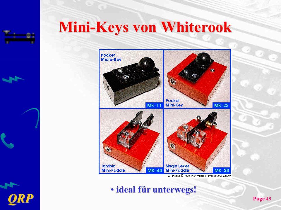 Mini-Keys von Whiterook