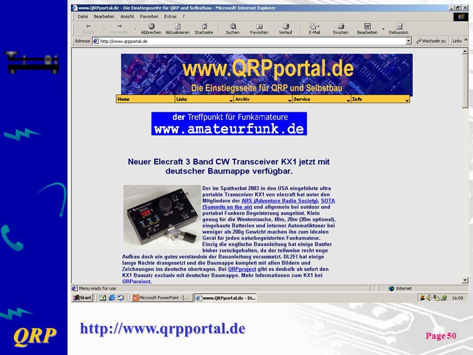 http://www.qrpportal.de