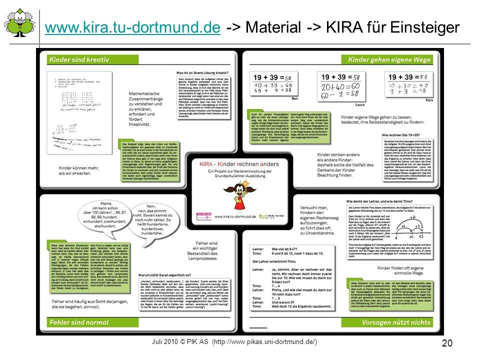 www.kira.tu-dortmund.de -> Material -> KIRA für Einsteiger