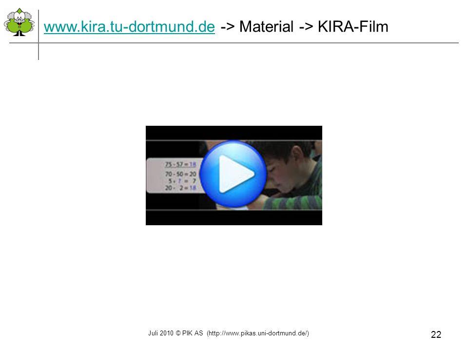 www.kira.tu-dortmund.de -> Material -> KIRA-Film