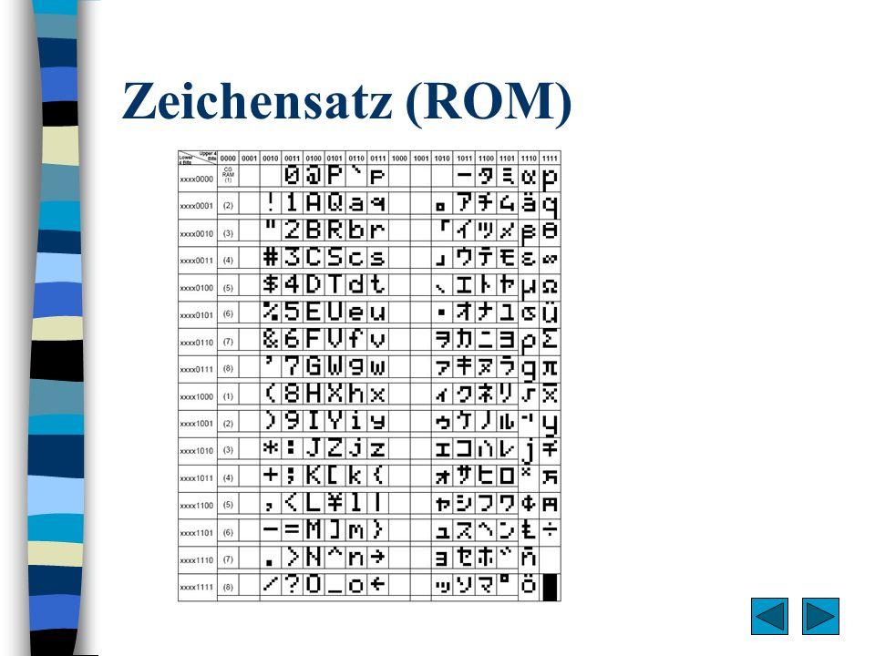 Zeichensatz (ROM)