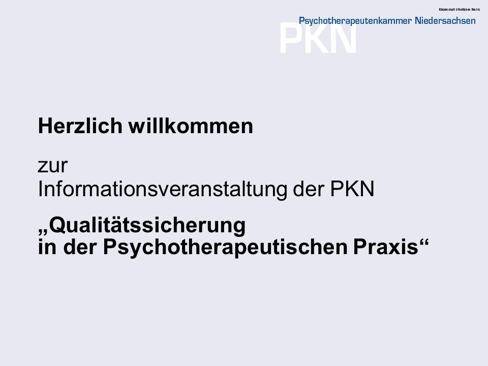 Herzlich willkommen zur. Informationsveranstaltung der PKN.