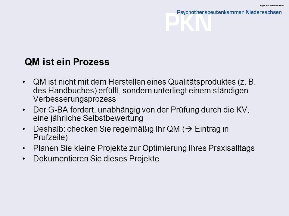QM ist ein Prozess