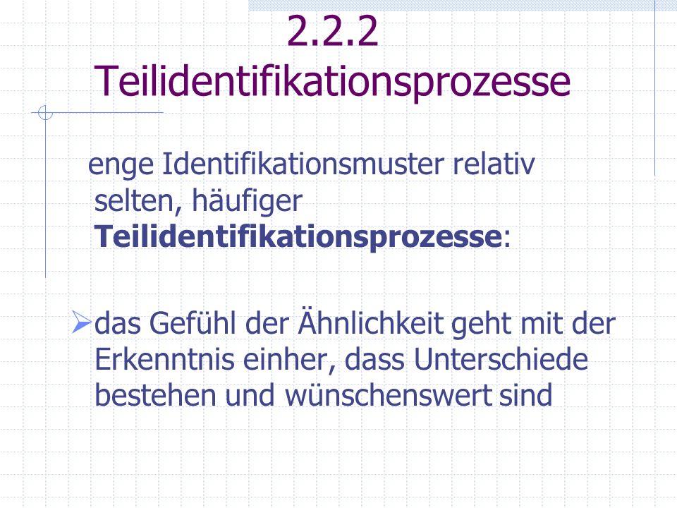 2.2.2 Teilidentifikationsprozesse