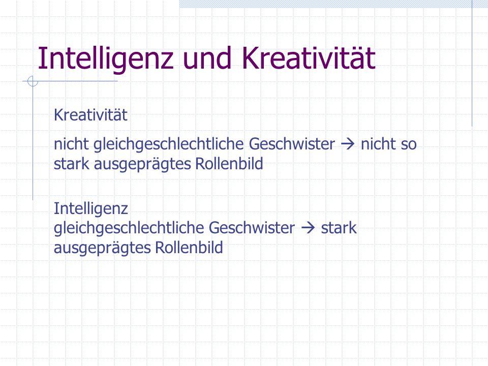 Intelligenz und Kreativität
